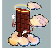 May Chocolate god bless you! Photographic Print