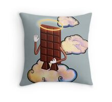 May Chocolate god bless you! Throw Pillow