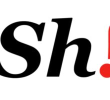 Sh!t Sticker