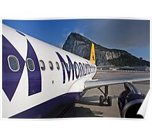 Air Bus A320 Monarch Poster