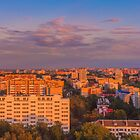 Minsk City Quarter With Green Parks by GrishkaBruev