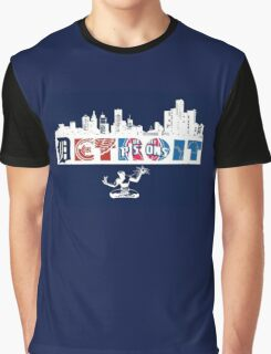 Detroit Sports Graphic T-Shirt