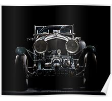 Blower Bentley Poster