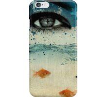 tear in the ocean iPhone Case/Skin