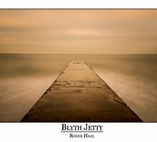 The Old Stone Jetty by Roger Hall