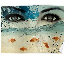 tear in the ocean Poster