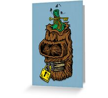 Shrunken Bender Greeting Card