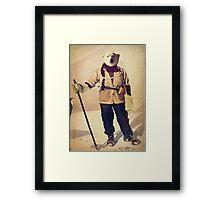 Polar Explorer Framed Print