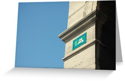 Parisian Invader by lauracronin