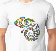 Maori Confused Chameleon Color Unisex T-Shirt