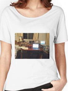 pinkyjain's Mini Art Studio Women's Relaxed Fit T-Shirt