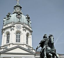 Charlottenburg Palace in Berlin by Vac1