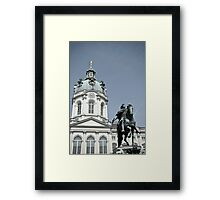 Charlottenburg Palace in Berlin Framed Print