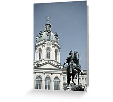 Charlottenburg Palace in Berlin Greeting Card