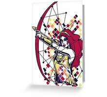 Greek Mythology & Gods - Artemis Greeting Card
