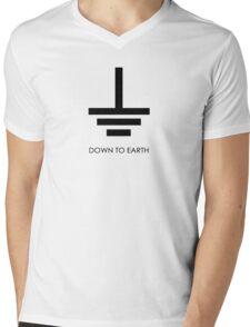 Down to Earth - T Shirt Mens V-Neck T-Shirt