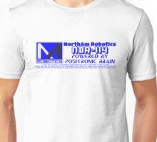 NORTHAM ROBOTICS NDR-114 POSITRONIC BRAIN Unisex T-Shirt