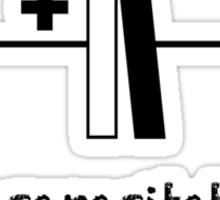 Incapacitated - Slogan T-Shirt Sticker