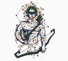 Greek Mythology & Gods - Archer One Piece - Short Sleeve