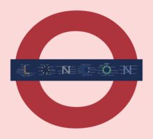 London Underground - MAP! Kids Tee