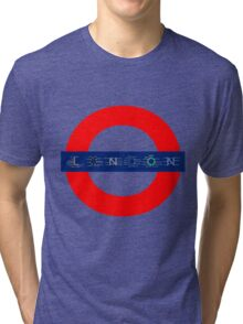 London Underground - MAP! Tri-blend T-Shirt