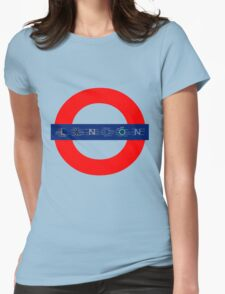London Underground - MAP! Womens Fitted T-Shirt