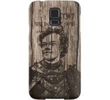 Theon Greyjoy - Carved case Samsung Galaxy Case/Skin