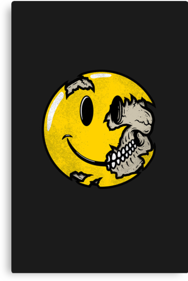 Smiley face skull by R-evolution GFX