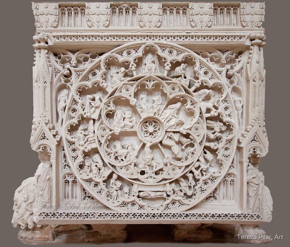 Roda da Vida e Roda da Fortuna. D.Pedro I e D.Inês by terezadelpilar~ art & architecture