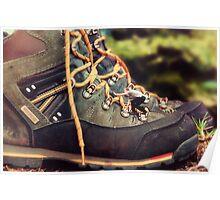 Climbing Boots Poster