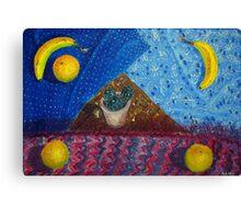Symbolistic still-life Canvas Print