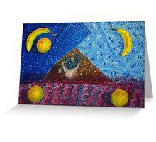Symbolistic still-life Greeting Card