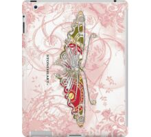 Floral, butterfly  ipad case iPad Case/Skin