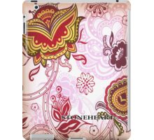 Floral red  ipad case iPad Case/Skin
