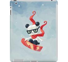 Snowboarding iPad Case/Skin