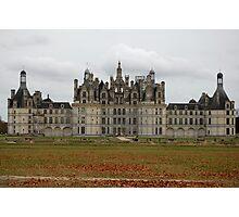 Chateau de Châmbord Photographic Print