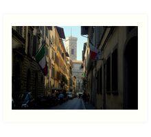 Giotto's Campanile, Florence Art Print