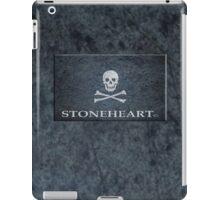 Skull tattoo in blue ipad case iPad Case/Skin
