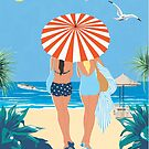 Classic Monte Carlo Vintage Travel Poster by gshapley