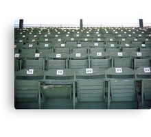 Old Fashioned Baseball Stands Canvas Print