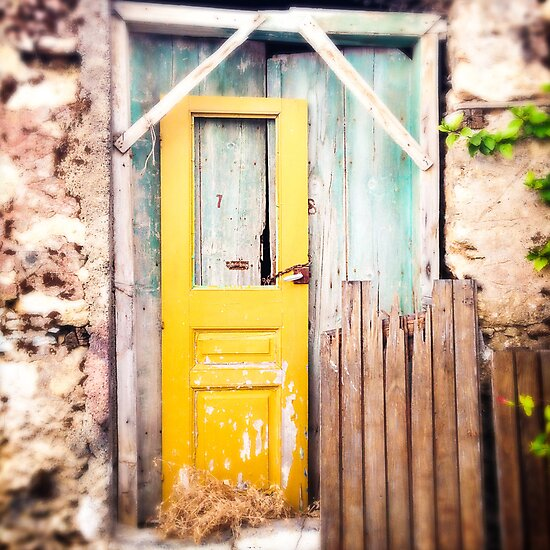 Green and yellow abandoned. by eyeshoot
