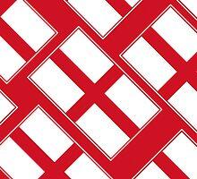 Smartphone Case - Flag of England  - Diagonal by Mark Podger
