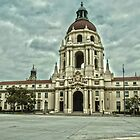 Pasadena City Hall in HDR (high dynamic range) by philw