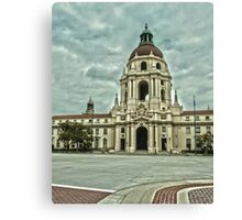 Pasadena City Hall in HDR (high dynamic range) Canvas Print