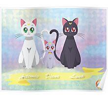 Artemis, Diana, Luna Poster