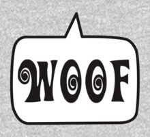 WOOF by Bubble-Tees.com by Bubble-Tees
