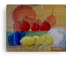 Abstracted Fruit  Canvas Print