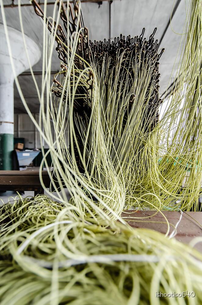 Green Yarn by ishootiso640