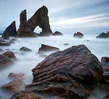 Breeches Sea Arch by Derek Smyth