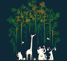 Re-paint the forest by Budi Kwan